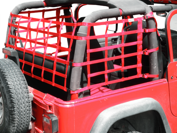 TJ Jeep Wrangler Cargo Nets